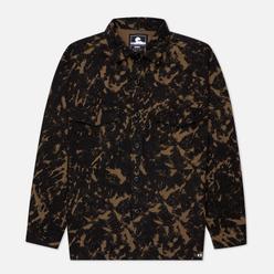 Мужская рубашка Edwin Big Panama Camo Grass All Over Print Garment Washed