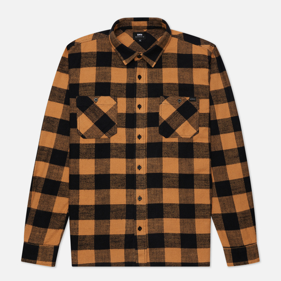Мужская рубашка Edwin Labour Heavy Flannel Brushed Rabbits Garment Washed