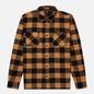 Мужская рубашка Edwin Labour Heavy Flannel Brushed Rabbits Garment Washed фото - 0