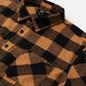 Мужская рубашка Edwin Labour Heavy Flannel Brushed Rabbits Garment Washed фото - 1