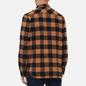 Мужская рубашка Edwin Labour Heavy Flannel Brushed Rabbits Garment Washed фото - 3