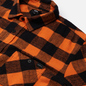 Мужская рубашка Edwin Labour Heavy Flannel Brushed Seville Orange Garment Washed фото - 1