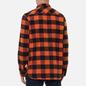 Мужская рубашка Edwin Labour Heavy Flannel Brushed Seville Orange Garment Washed фото - 3