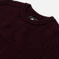 Мужской свитер Edwin Roni Crew Plum Pie Garment Washed фото - 1