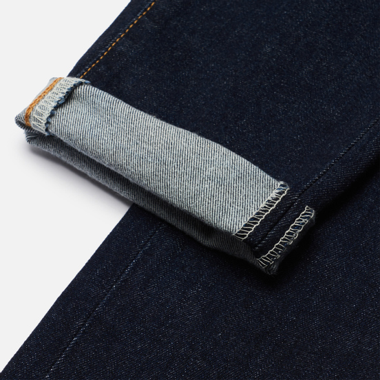 Мужские джинсы Edwin Slim Tapered Kaihara Organic Stretch Denim Blue Rinsed