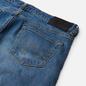 Мужские джинсы Edwin Slim Tapered Kaihara Organic Stretch Denim Blue Mid Used фото - 2