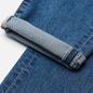 Мужские джинсы Edwin Slim Tapered Kaihara Organic Stretch Denim Blue Mid Used фото - 3