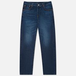 Мужские джинсы Edwin Loose Straight Kaihara Indigo Blue x White Selvage 11 Oz Blue Dark Used