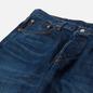 Мужские джинсы Edwin Loose Straight Kaihara Indigo Blue x White Selvage 11 Oz Blue Dark Used фото - 1