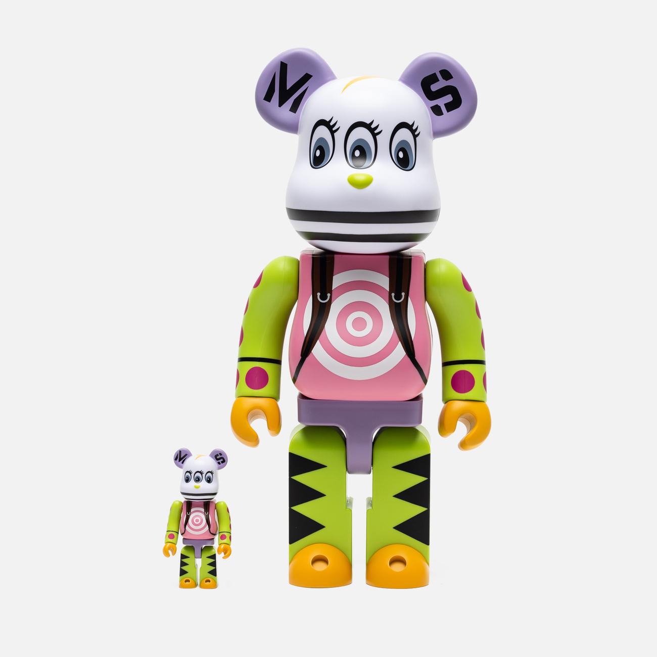 Игрушка Medicom Toy x Master-piece Bearbrick Kousuke Shimizu 100% & 400%