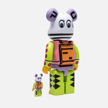 Игрушка Medicom Toy x Master-piece Bearbrick Kousuke Shimizu 100% & 400% фото- 1