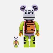 Игрушка Medicom Toy x Master-piece Bearbrick Kousuke Shimizu 100% & 400% фото- 2