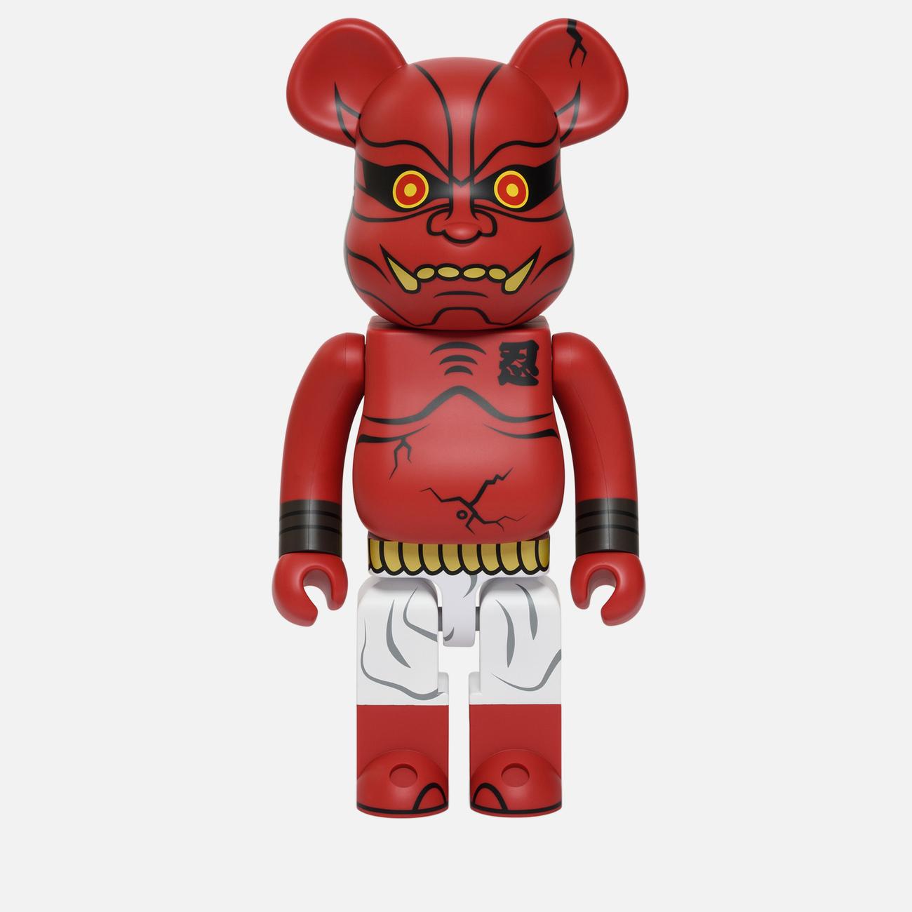 Игрушка Medicom Toy Bearbrick Akaoni 1000%
