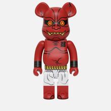 Игрушка Medicom Toy Bearbrick Akaoni 1000% фото- 0