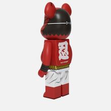 Игрушка Medicom Toy Bearbrick Akaoni 1000% фото- 1