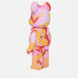 Игрушка Medicom Toy Bearbrick Andy Warhol Camo Pink 1000% фото- 1