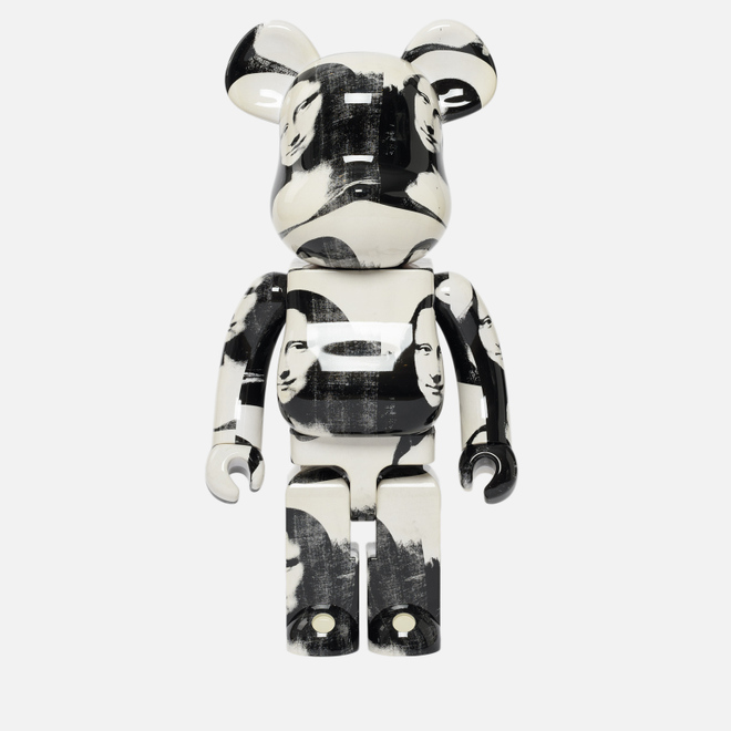 Игрушка Medicom Toy Bearbrick Andy Warhol Double Mona Lisa 1000%