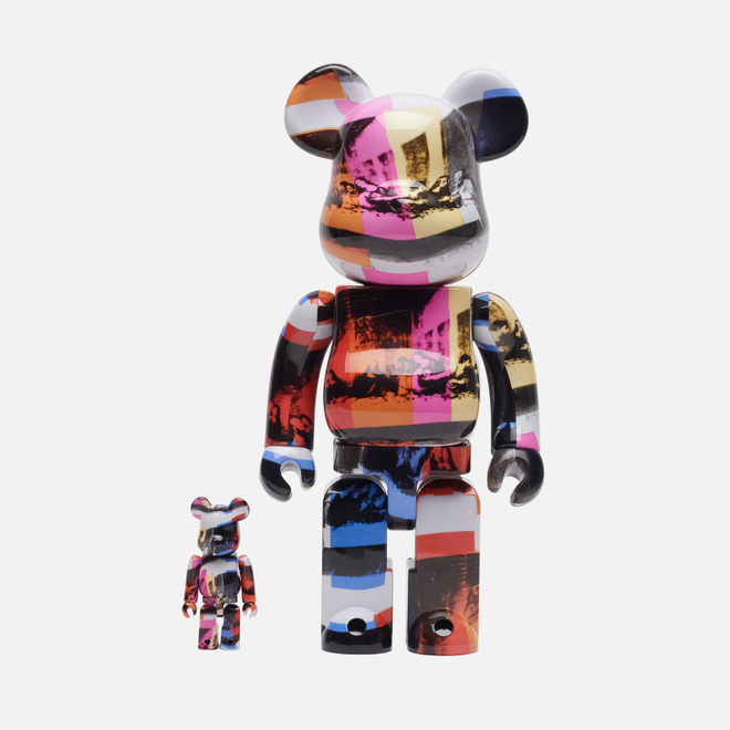 Игрушка Medicom Toy Bearbrick Andy Warhol The Last Supper 100% & 400%