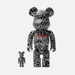 Игрушка Medicom Toy Bearbrick atmos Reverse Elephant Set 100% & 400% фото- 0