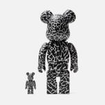 Игрушка Medicom Toy Bearbrick atmos Reverse Elephant Set 100% & 400% фото- 2