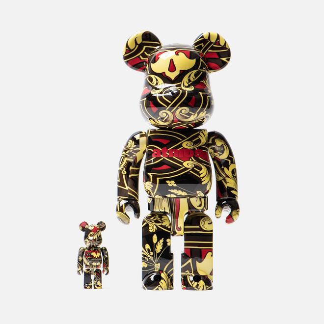 Игрушка Medicom Toy Bearbrick atmos Scarf 100% & 400%