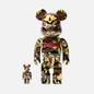 Игрушка Medicom Toy Bearbrick atmos Scarf 100% & 400% фото - 0
