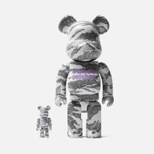 Игрушка Medicom Toy Bearbrick atmos x Solebox 100% & 400% фото- 0
