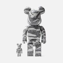 Игрушка Medicom Toy Bearbrick atmos x Solebox 100% & 400% фото- 2