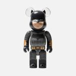 Игрушка Medicom Toy Bearbrick Batman Justice League Version 400% фото- 0