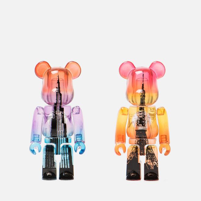 Игрушка Medicom Toy Bearbrick Burj Khalifa Tower & Tokyo Tower 100%