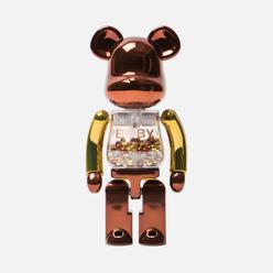 Игрушка Medicom Toy Bearbrick Chogokin My First B@by Steampunk 200%