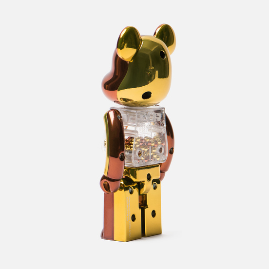 Игрушка Medicom Toy Bearbrick Chogokin My First B@by Steampunk 200%