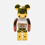 Игрушка Medicom Toy Bearbrick Chogokin My First B@by Steampunk 200% фото- 2