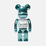 Игрушка Medicom Toy Bearbrick Chogokin My First B@by Turquoise 200% фото- 0