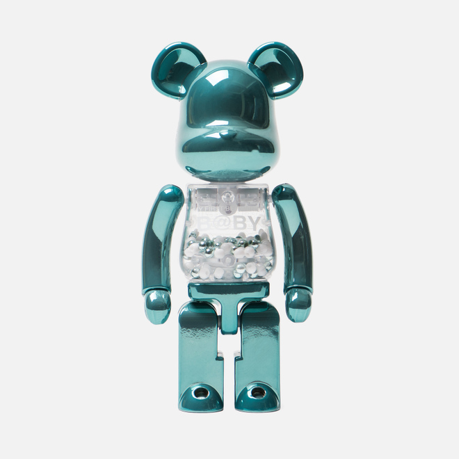 Игрушка Medicom Toy Bearbrick Chogokin My First B@by Turquoise 200%