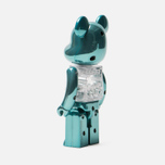 Игрушка Medicom Toy Bearbrick Chogokin My First B@by Turquoise 200% фото- 1