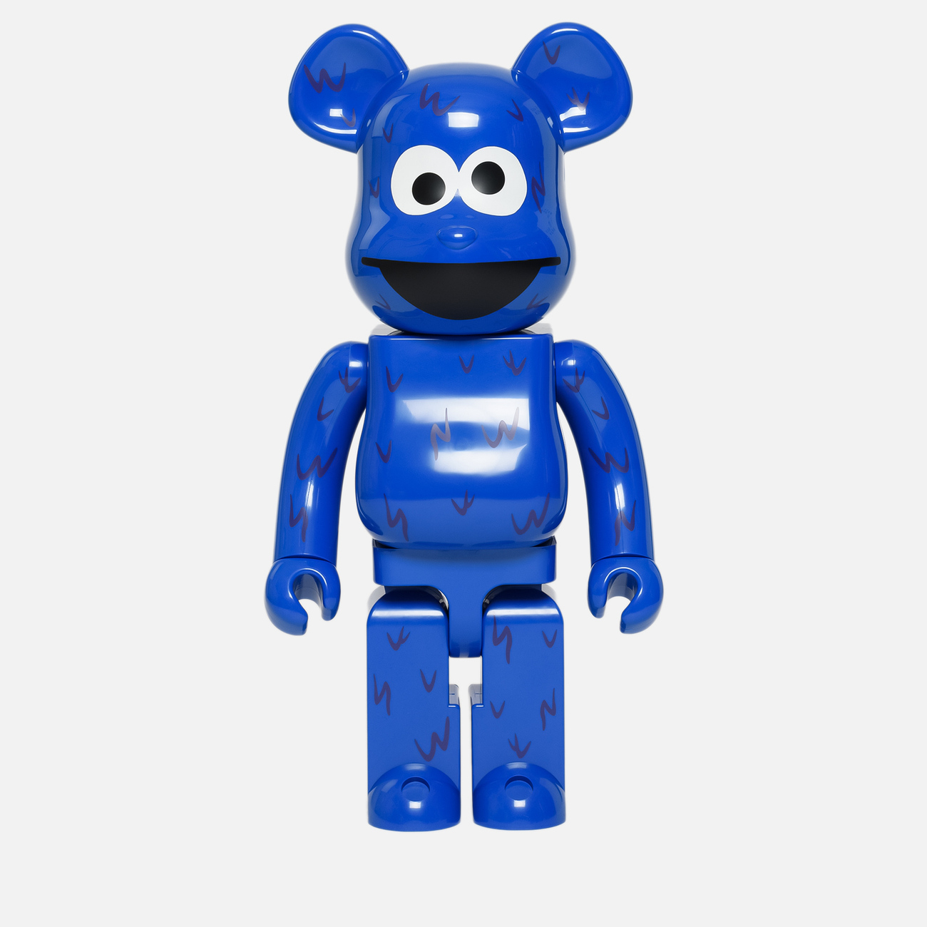 Игрушка Medicom Toy Bearbrick Cookie Monster 1000%