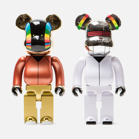Игрушка Medicom Toy Bearbrick Daft Punk Discovery Version 2 Pack 400%
