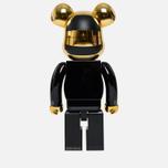 Игрушка Medicom Toy Bearbrick Daft Punk Guy-Manuel de Homem-Christo 1000% фото- 2