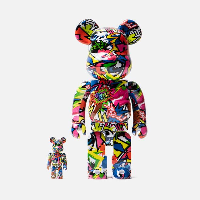 Игрушка Medicom Toy Bearbrick Fantasista Utamaro 100% & 400%