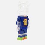 Игрушка Medicom Toy Bearbrick FC Barcelona 1000% фото- 1