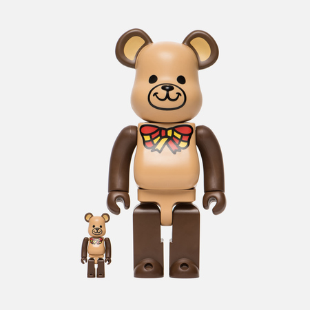 Игрушка Medicom Toy Bearbrick Freemasonry Set Version 100% & 400%