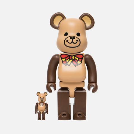Игрушка Medicom Toy Bearbrick Freemasonry Set Version 100% & 400%
