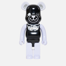 Игрушка Medicom Toy Bearbrick Freemasonry x Fragmentdesign Black 1000% фото- 0