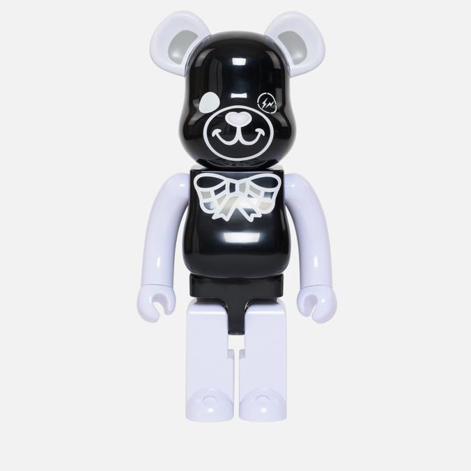 Игрушка Medicom Toy Bearbrick Freemasonry x Fragmentdesign Black 1000%