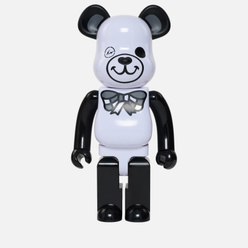 Игрушка Medicom Toy Bearbrick Freemasonry x Fragmentdesign White 1000%