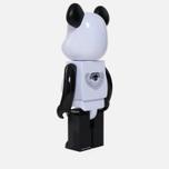 Игрушка Medicom Toy Bearbrick Freemasonry x Fragmentdesign White 1000% фото- 1