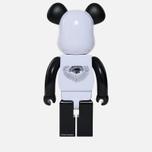 Игрушка Medicom Toy Bearbrick Freemasonry x Fragmentdesign White 1000% фото- 2