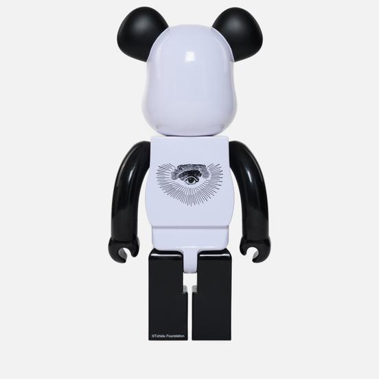 Игрушка Medicom Toy Bearbrick Freemasonry x Fragmentdesign White 1000%