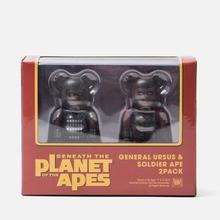 Игрушка Medicom Toy Bearbrick General Ursus & Soldier Ape 2-Pack 100% фото- 3